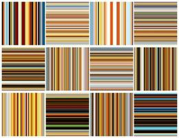 Naadloze kleurrijke strepenachtergrond