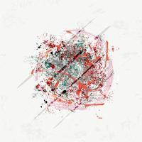 Abstracte kunst moderne achtergrond vector