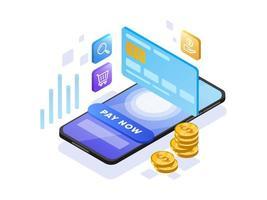 Online betaling vector
