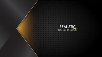 Zwarte abstracte futuristische glanzende lichte achtergrond met rasterlijn