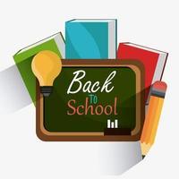 Terug naar schoolseizoenontwerp