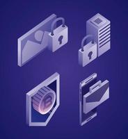 datanetwerk concept set