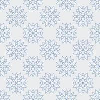 naadloze bloem pioen patroon