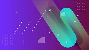 kleurrijke abstracte vectorkunst geometrische achtergrond