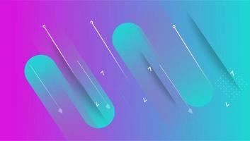 kleurrijke minimale abstracte kunst geometrische achtergrond