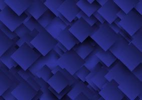 Abstract overlappend vierkantenontwerp