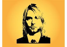 Kurt cobain vector