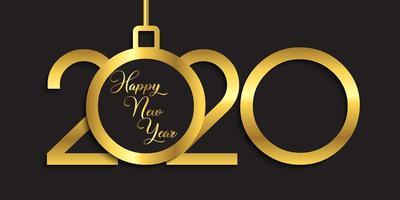 Gelukkig Nieuwjaar bannerontwerp vector