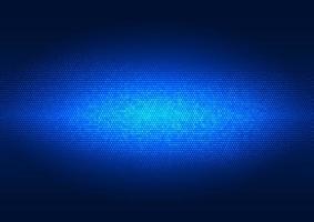 Blauwe tech stippen achtergrond