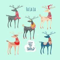 Kerst Magic Deer