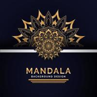 Luxe Indiase Mandala achtergrondontwerp