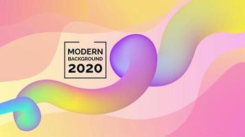 Abstracte moderne achtergrondontwerpvector