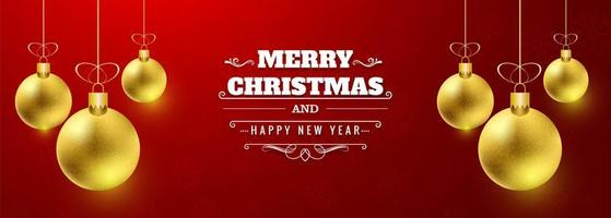 Mooie van de Kerstmisbanner vector als achtergrond