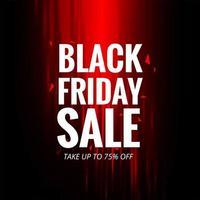 Donkere zwarte vrijdag verkoop achtergrond vector