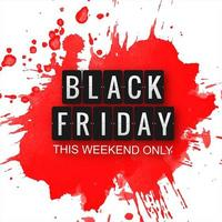 Zwarte vrijdag moderne verkoop achtergrond vector