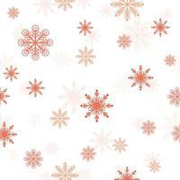 Rad Sneeuwvlokpatroon