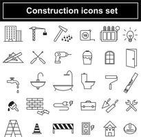 Bouw pictogrammen instellen