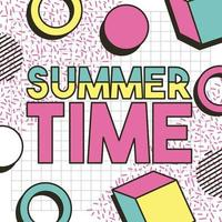 zomertijd vakanties