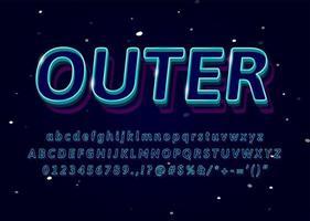 3D-lettertype
