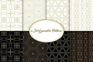Vintage geometrische patronen 01