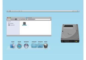 OS X-vectoren vector