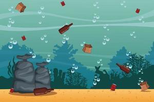 Zee schoonmaak tekenfilms