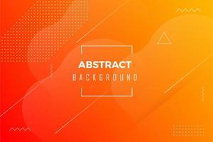 Minimalistische abstracte achtergrond oranje