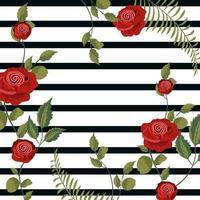 Vintage floral achtergrond vector