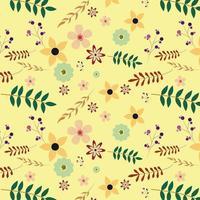 Floral achtergrondontwerp vector