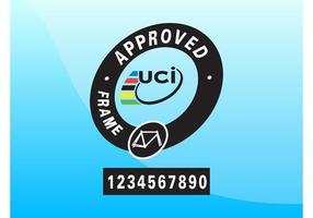 UCI goedgekeurd vector