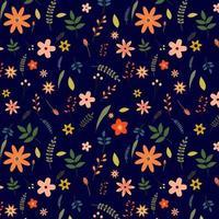 bloemmotief ontwerp vector