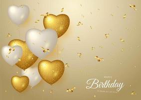 Gelukkige verjaardag viering typografieontwerp voor wenskaart