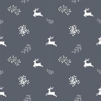 Wintervakantie naadloze herhaling patroon vector