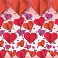 harten decoratie tot valentijn evenement viering vector