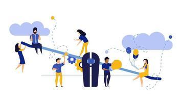 Werknemersvergelijking in het bedrijfsleven