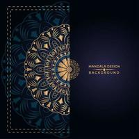 Gouden Mandala-ontwerp