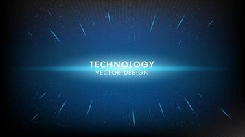 Abstract digitaal digitaal innovatietechnologie concept