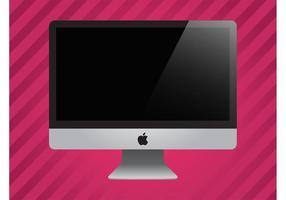 Appel imac vector