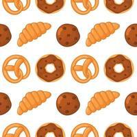 Bakkerij behandelt naadloos patroon