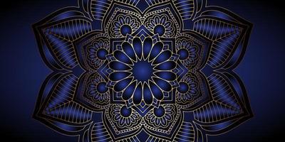 Decoratief mandala bannerontwerp vector