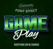 Game play tekst