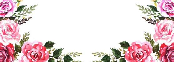 Elegante bloemenachtergrond vector