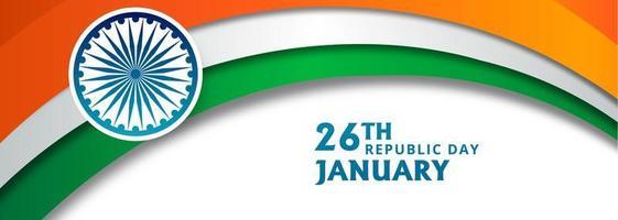 Abstracte Indiase golf sjabloon banner achtergrond vector
