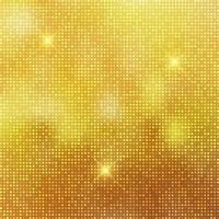 Glittery gouden achtergrond vector