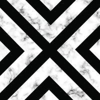marmeren textuurontwerp met geometrisch xontwerp vector