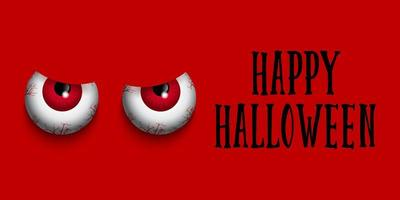 Boze ogen Happy Halloween