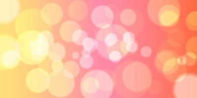 Bokeh lichten bannerontwerp vector