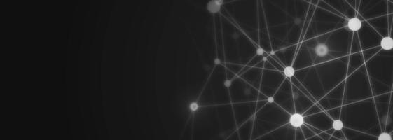 Elegante technologie banner achtergrond vector