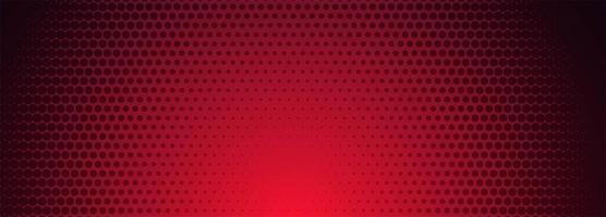 Rode en zwarte halftone patroonbanner