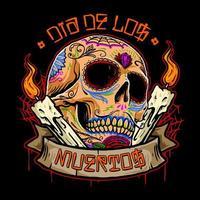 dia de los muertos schedel